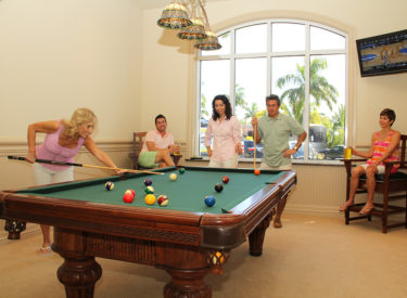 Naples Motorcoach Resort Billiards