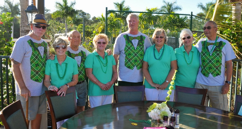 Photos From Our St Patrick's Day Party At Naples Motorcoach Resort