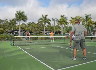 Pickleball Courts At Naples Florida