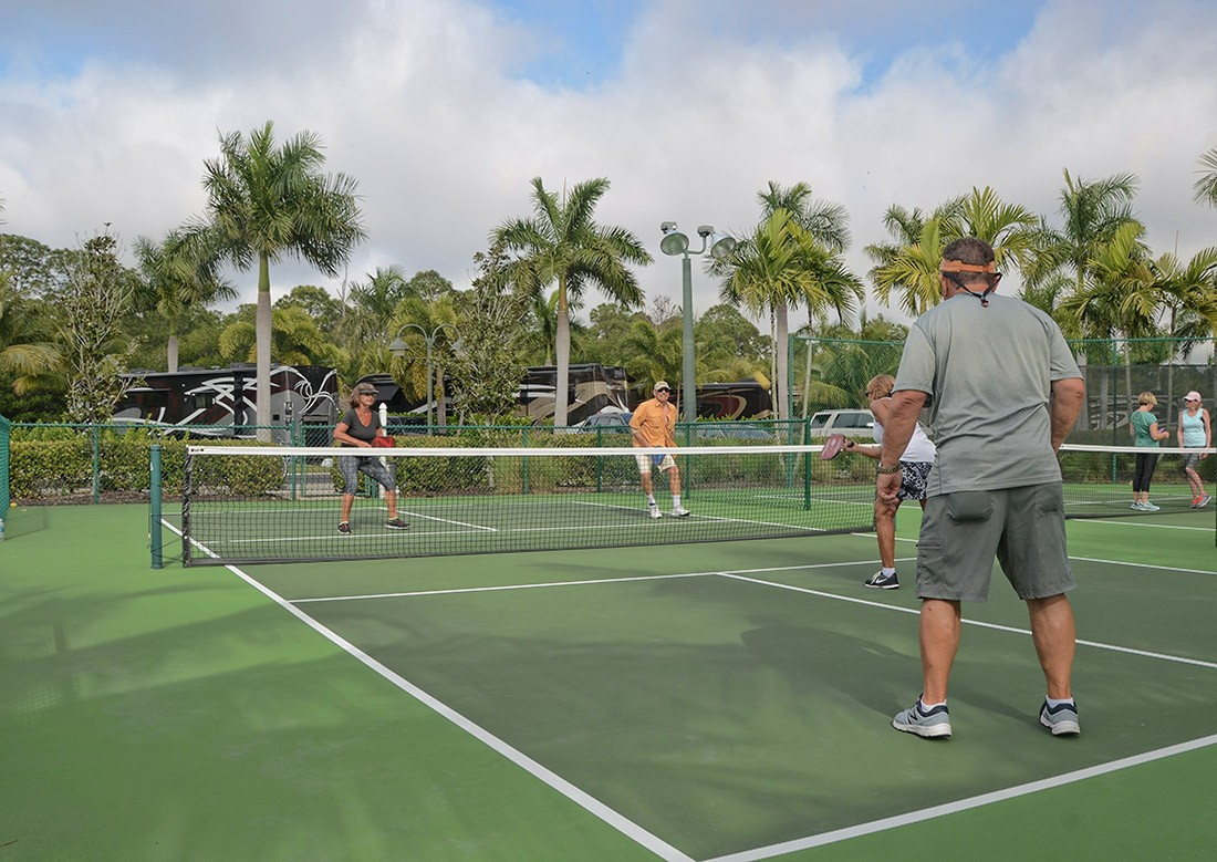 Pickleball Courts At Naples Florida