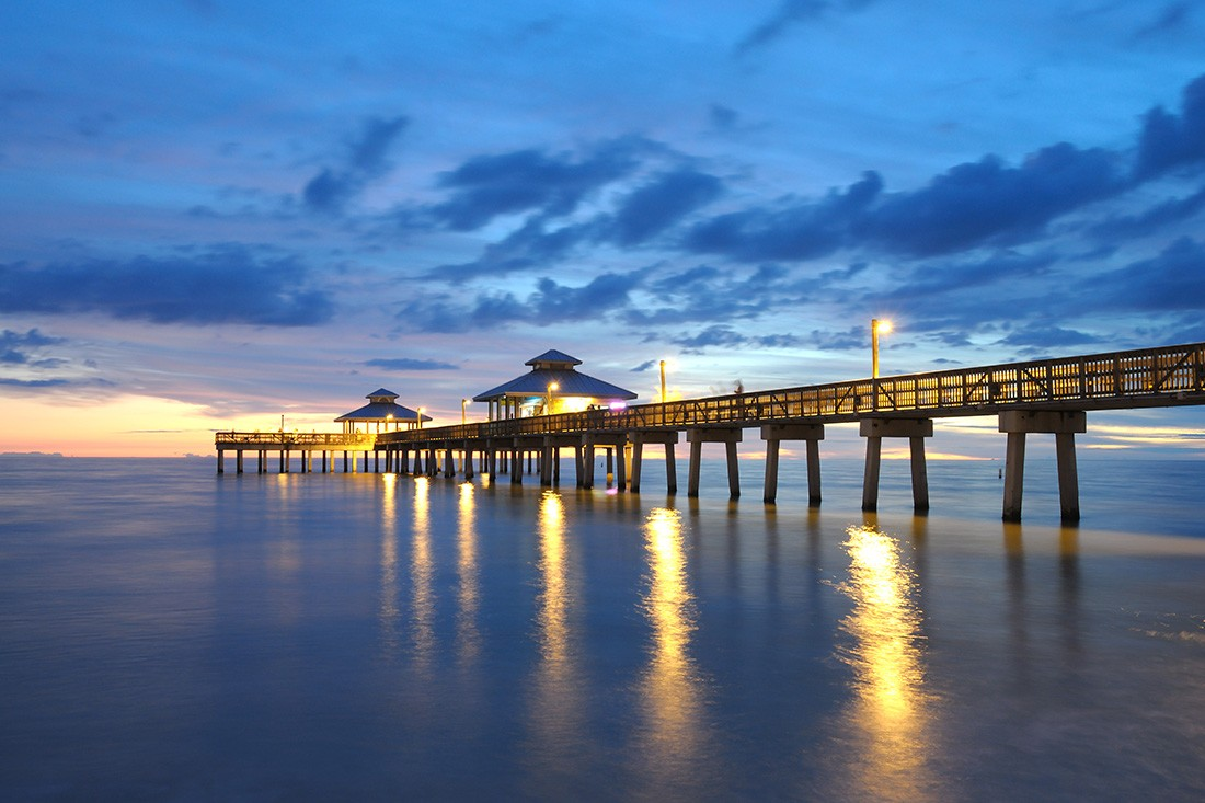 Naples Florida Pier is a must see spot