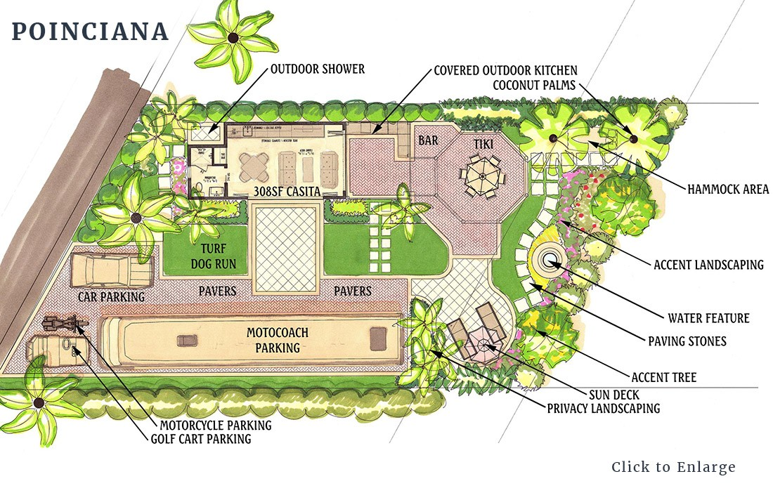 Poinciana lot design