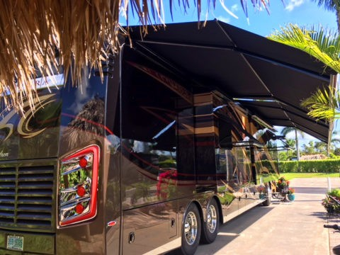 Duncan's home at Naples Motorcoach Resort