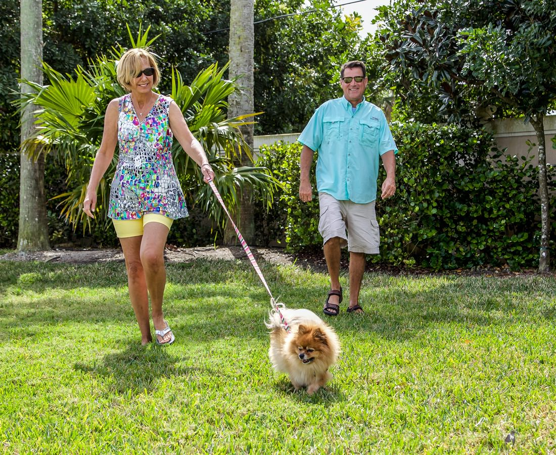 Visit our dog park at Naples Motorcoach Resort during your stay